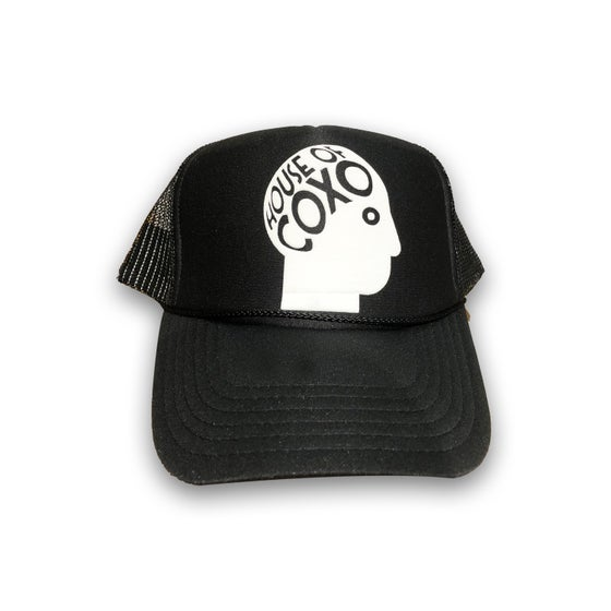 Image of HOUSE HEAD TRUCKER CAP