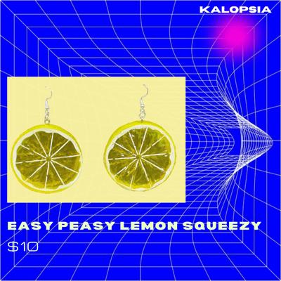 Image of Easy Peasy Lemon Squeezy Earrings