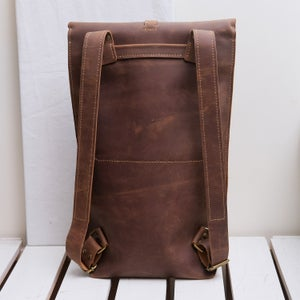 Image of Roll Top Bike Bag 15""