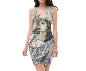 "Image of All-Over Print ""Strength"" Dress"