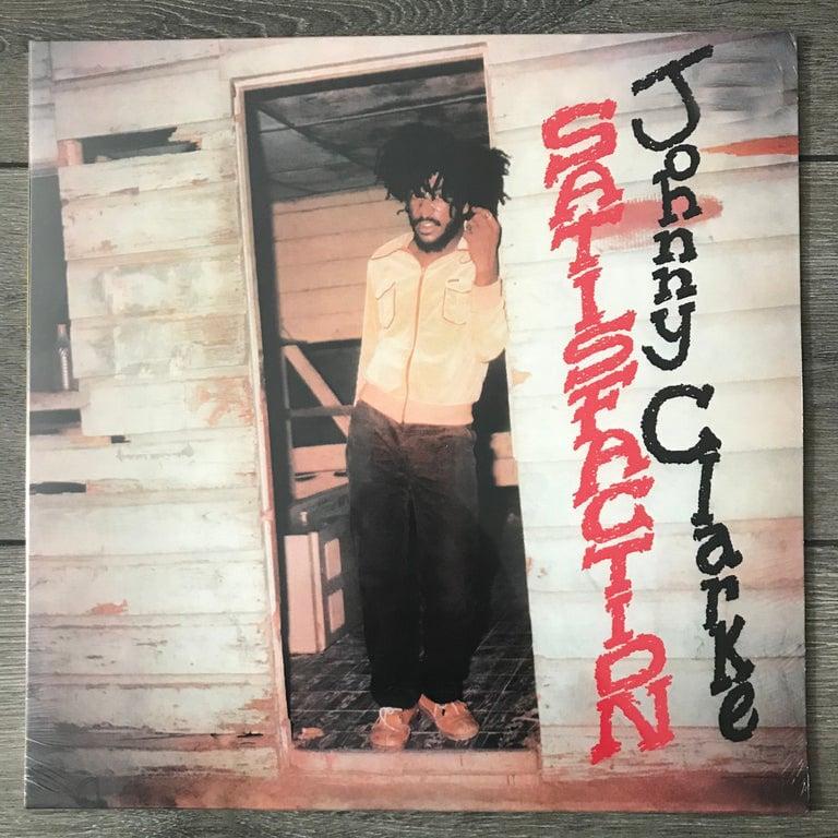 Image of Johnny Clarke - Satisfaction Vinyl LP