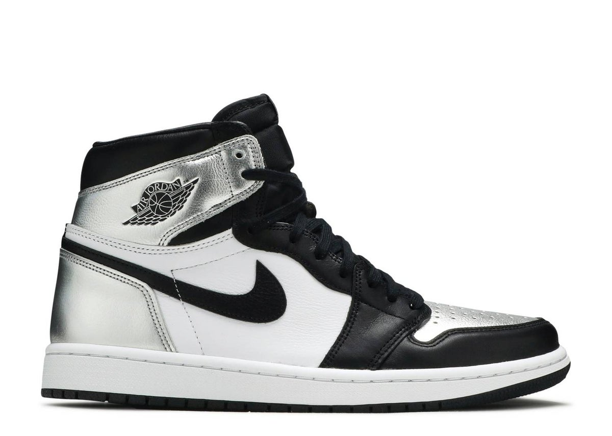 Image of WMNS AIR JORDAN 1 HIGH OG 'SILVER TOE'