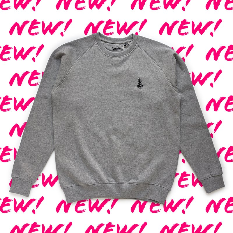 Image of Sweat shirt 1 Grey embroidered