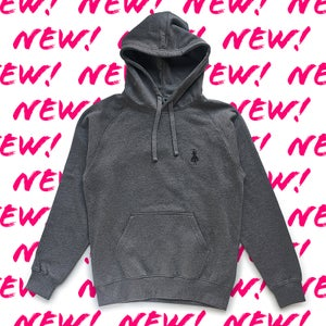 Image of Hoodie 1 Dark grey embroidered