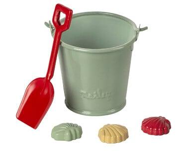 Image of Maileg - Beach Set, Bucket, Shovel & Shells (Pre-order)