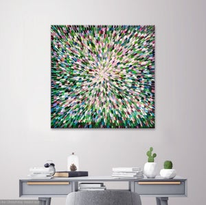 Image of Photosynthesis XI - 101x101cm