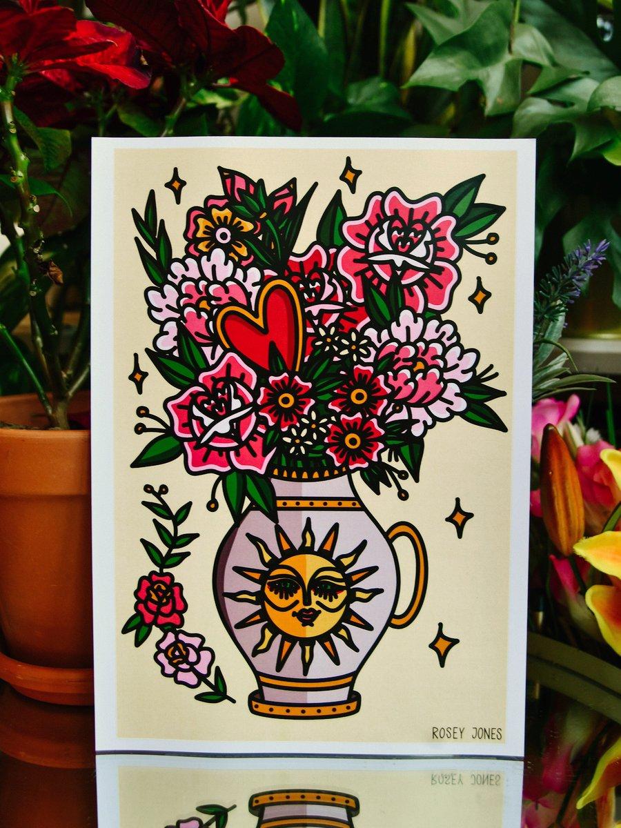 Image of Print Vase I
