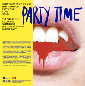 "Party Time 12"" black vinyl"