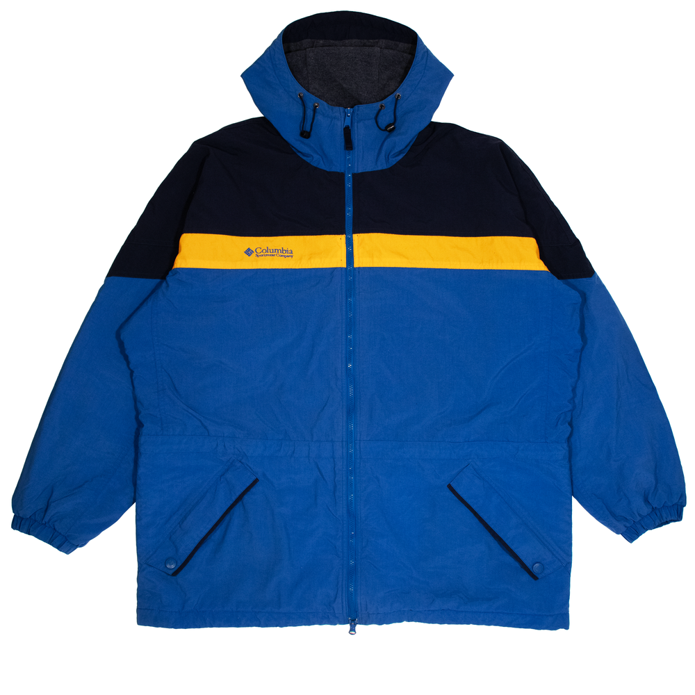 Image of Vintage Columbia Windbreaker Fleece Lined (XL)