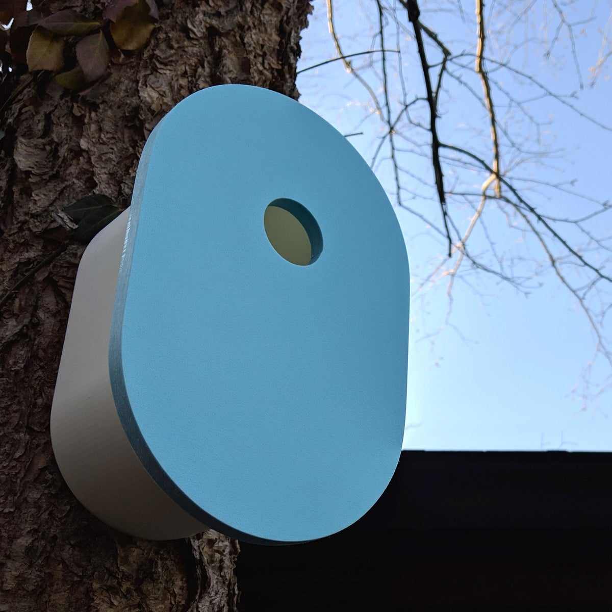 Image of Modern Birdhouse | Blue