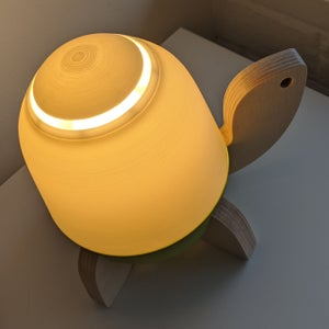 Image of Modern Kid's Turtle Lamp