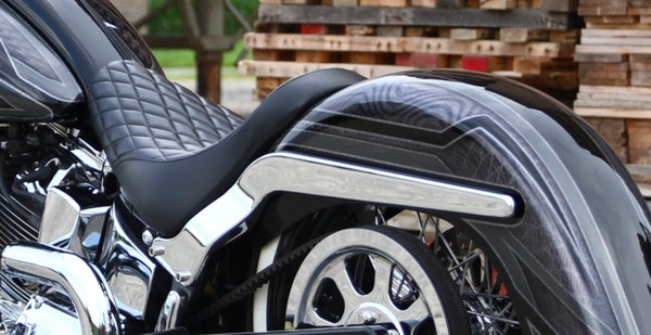Image of Smooth rear fender struts for softails