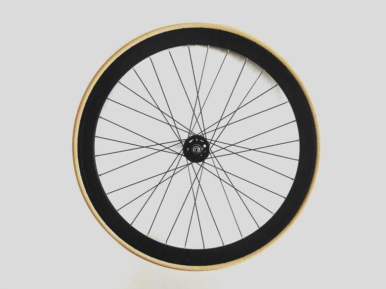 Image of Tannus Airless Road 700x23c - Front Wheel Setup