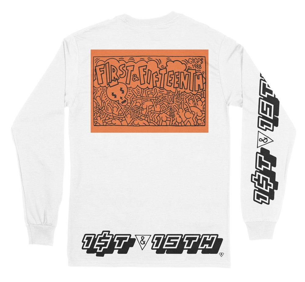 Image of LIMITED EDITION 1ST & 15TH [F#CK LOVE] LONG SLEEVE 2 PACK