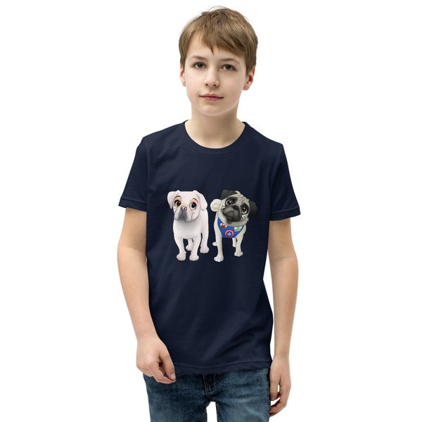 Image of Yogi and Snow White Kids Short Sleeve T-Shirt