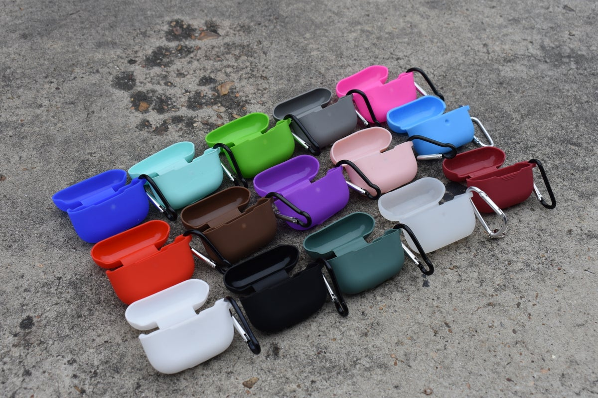 Image of AirPod Pros Silicone Cases With Clip/Hanger