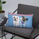 Image 1 of Yogi and Snow White Pillow