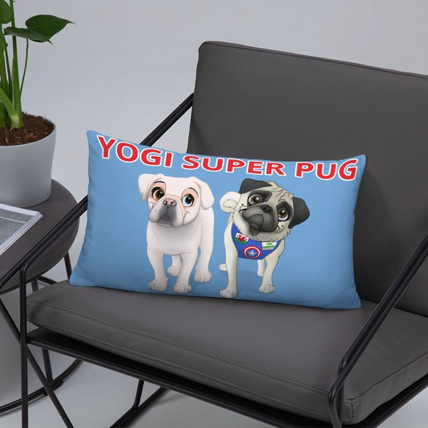 Image of Yogi and Snow White Pillow