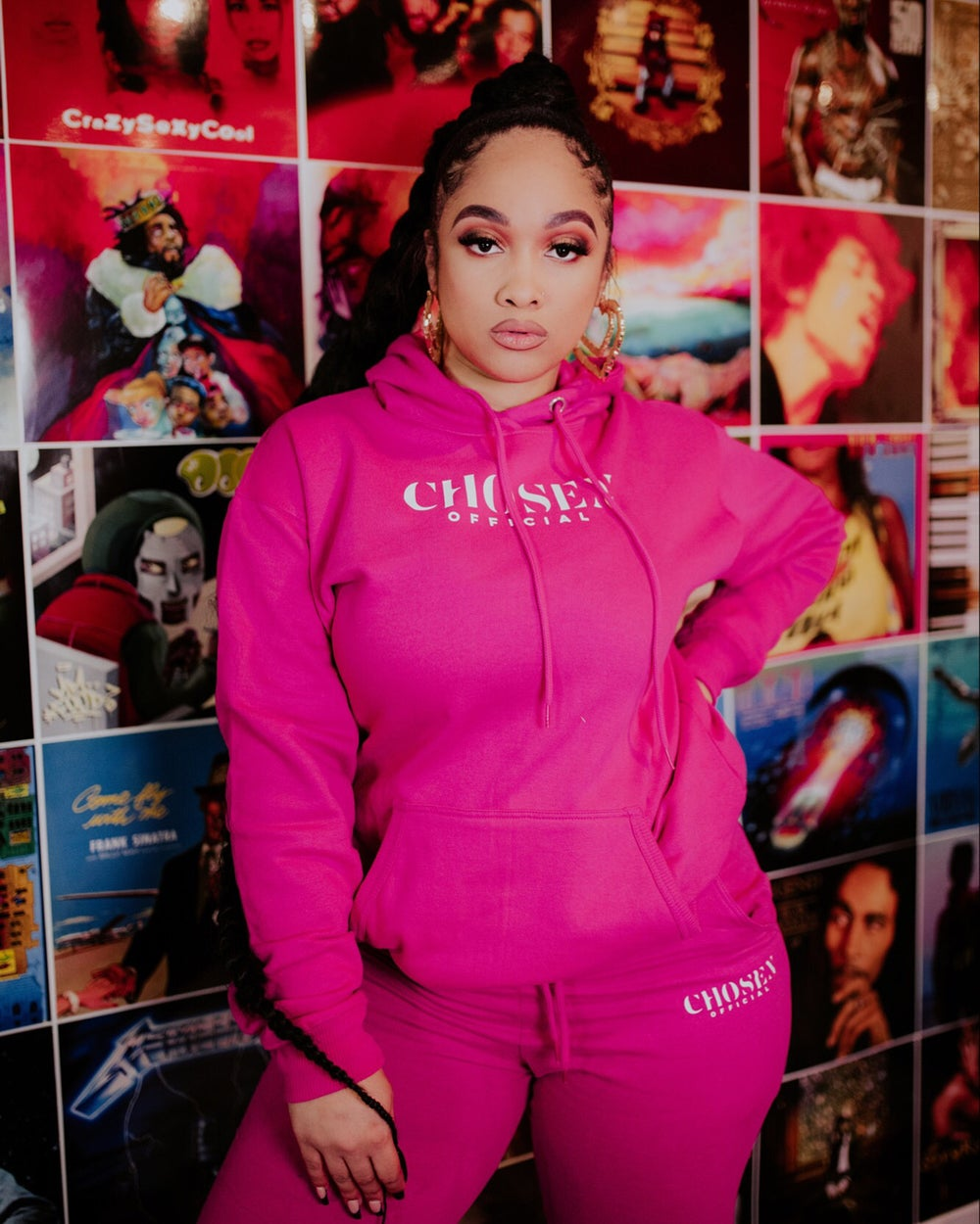 Image of Pinky Sweat Suit