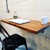 Rustic Reclaimed Folding Desk/ Breakfast Bar