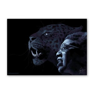 Image of THE PANTHER AND THE MESSIAH