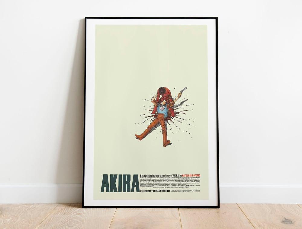 Yamagata - Akira Anime Poster, Cyberpunk Movie Poster
