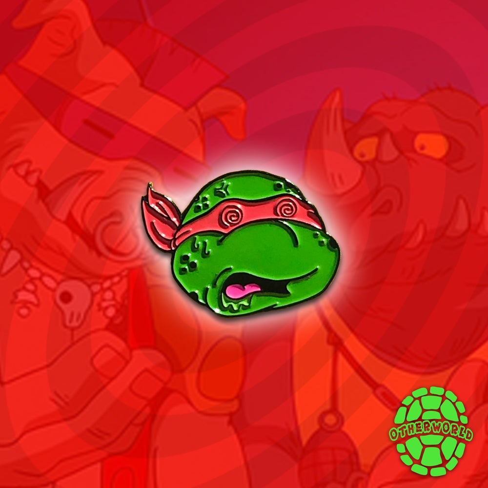 Image of Trippy Raph pin