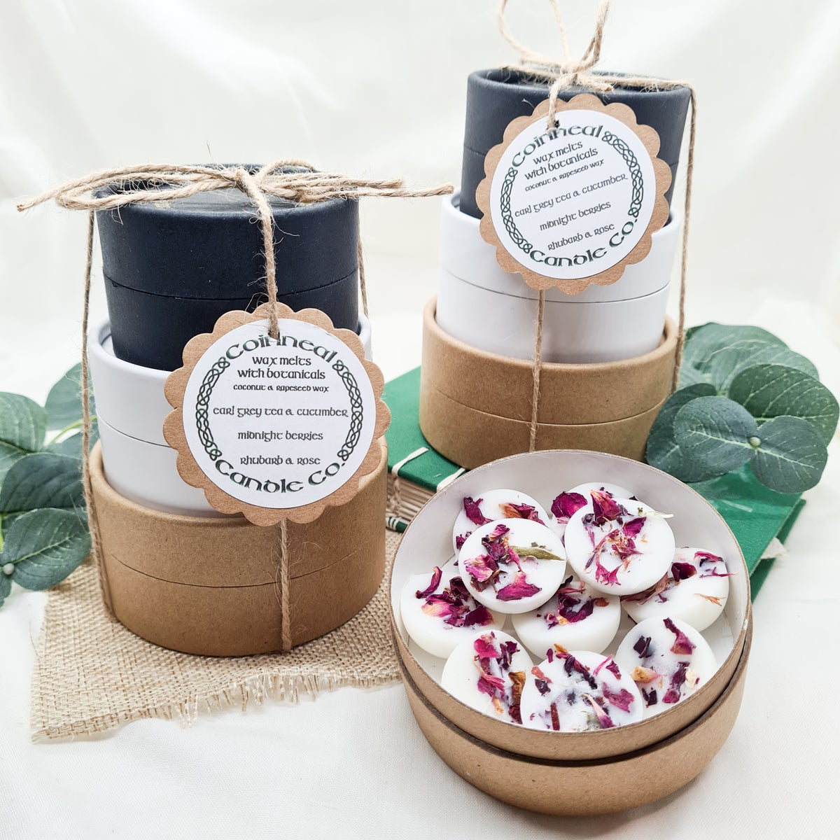 Botanical Wax Melts - Stacking Trio Pots
