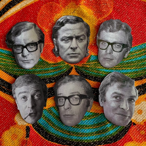 Image of Michael Caine sticker pack