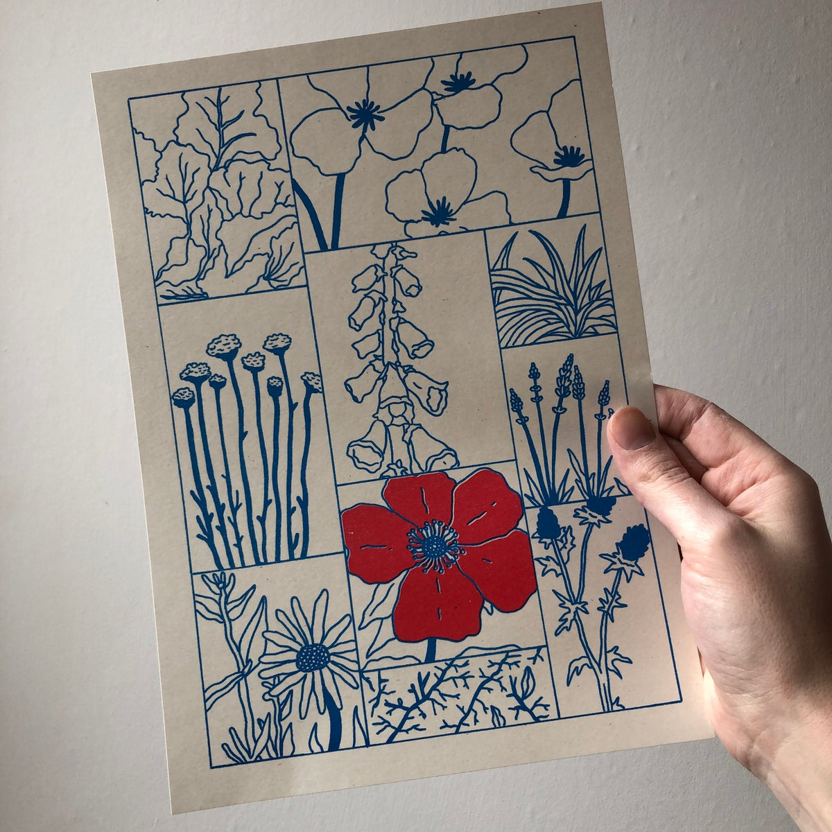 Image of A Garden by the Sea riso print collection