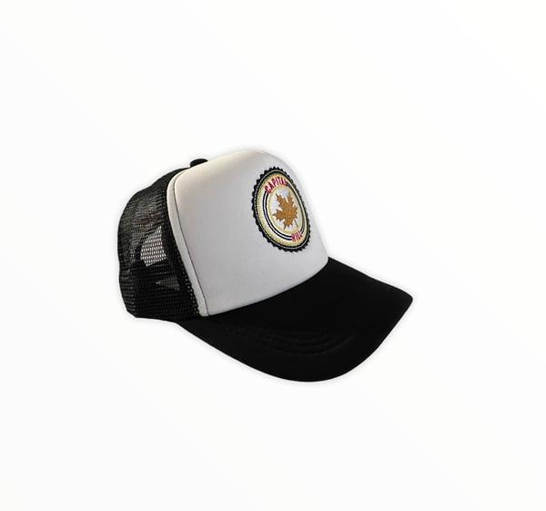 Image of Capital Hill B/W Trucker Mesh Hat