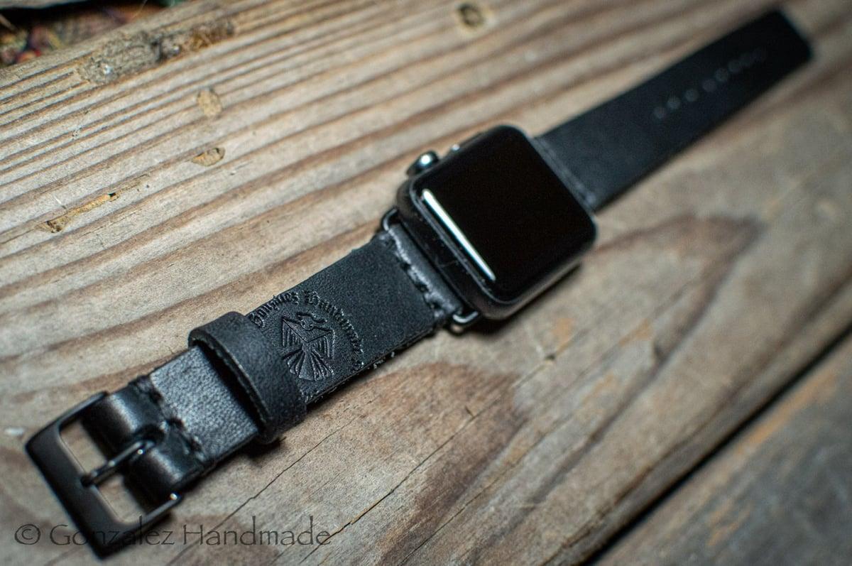 Image of Black Harvest 38/40mm Apple Watchband
