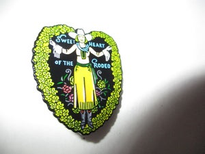 "Image of The Byrds Sweetheart Of The Rodeo 1 1/2"" Tall Metal Badge"