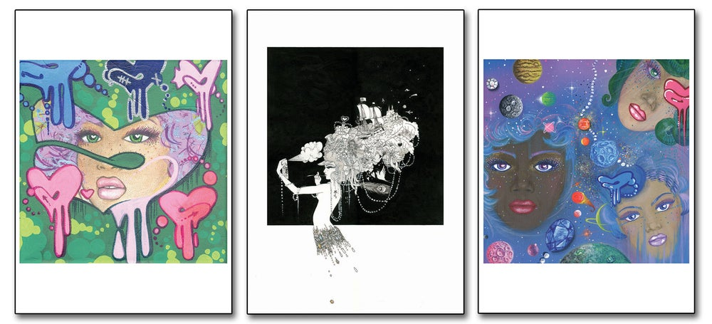 Image of Buy all 3 Akit prints for £50!
