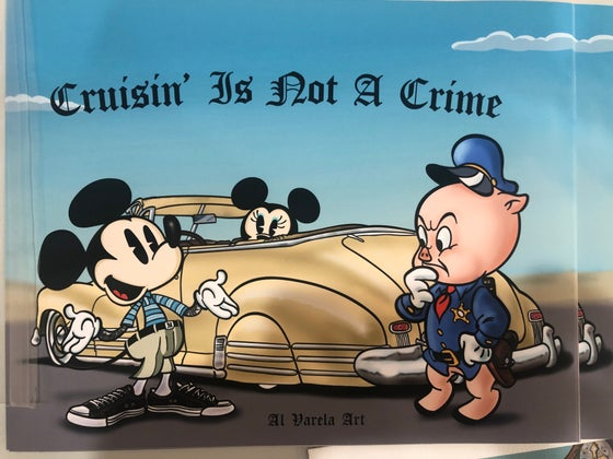 Image of Cruisin is not a crime print