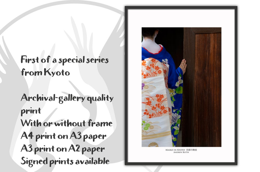 Image of Maiko in Kyoto 1
