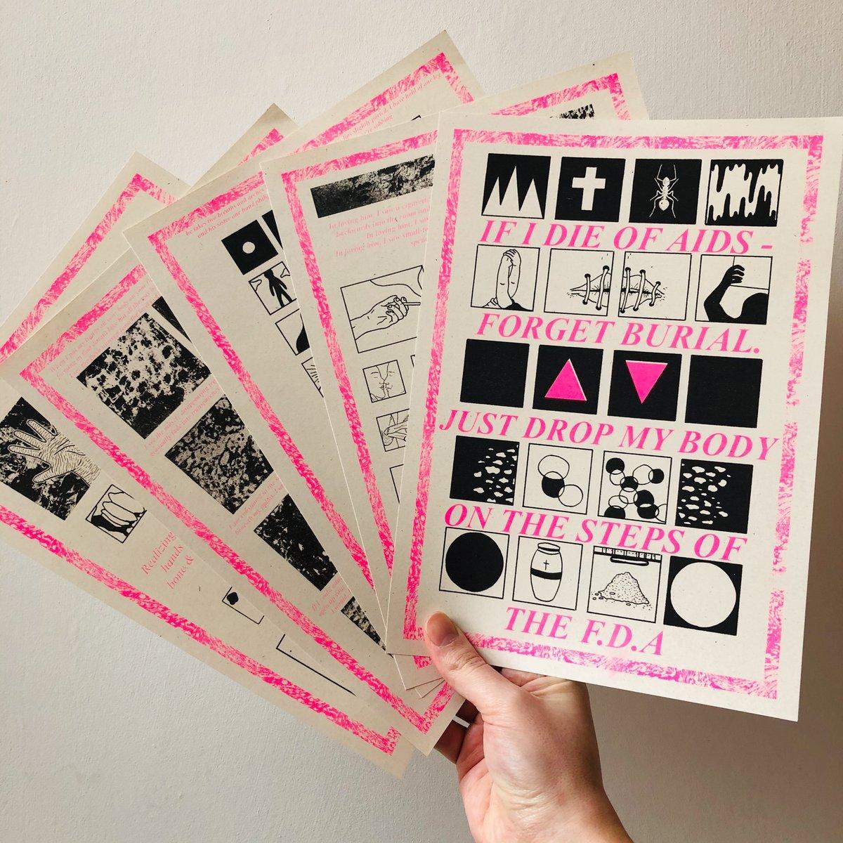 Image of David Wojnarowicz riso print collection