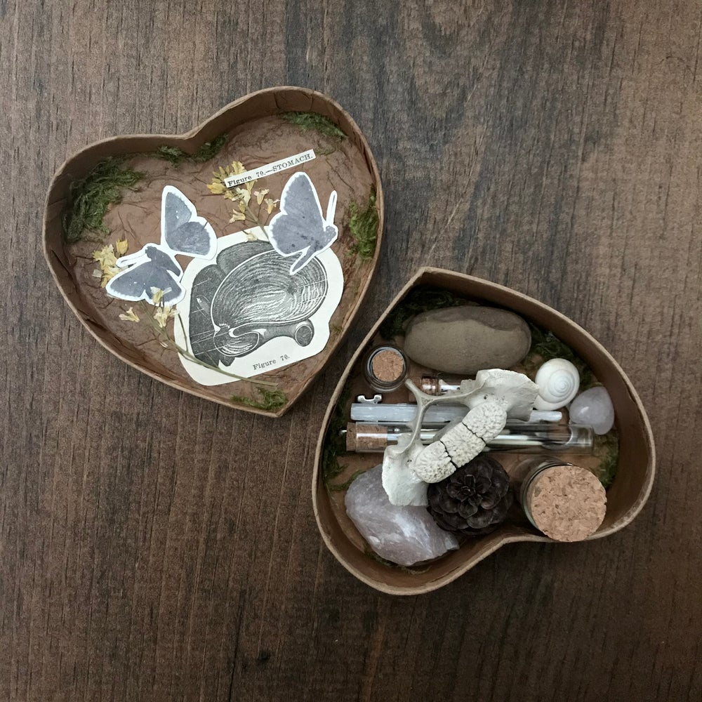 Image of valentine curio box