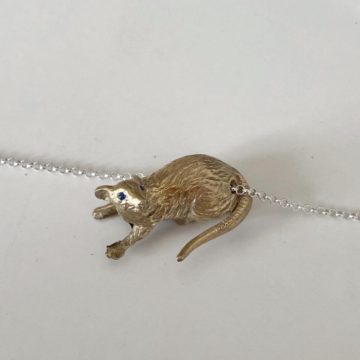Image of Rat necklace