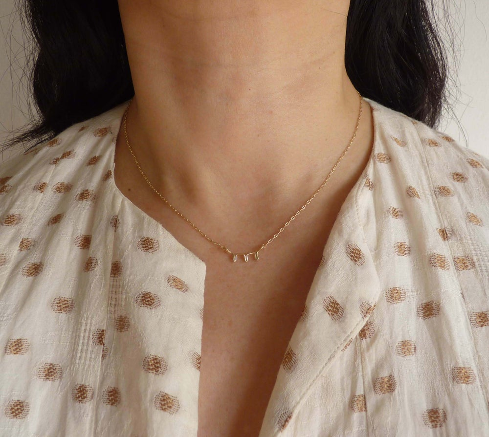 Image of Wink necklace