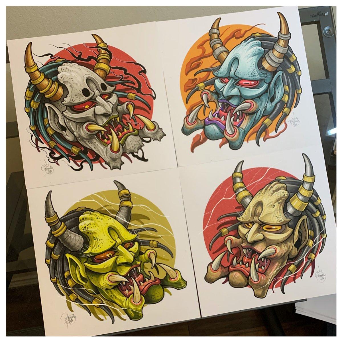 Image of Predator/Oni Mashup Originals