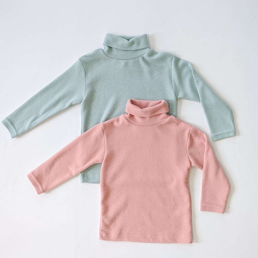 Image of Soft Turtleneck Top