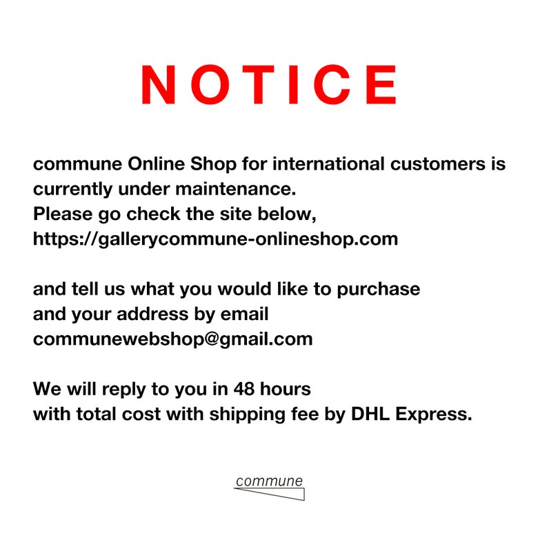 Image of For International Customers