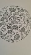 Original Drawing: Flowers and Birds 2