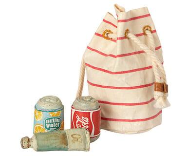 Image of Maileg - Miniature Beach Bag Essentials (Pre-order)