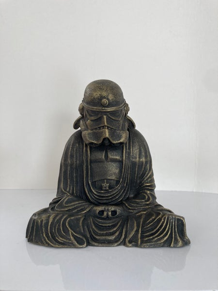 Image of Zen Trooper mini - BLACKENED BRONZE