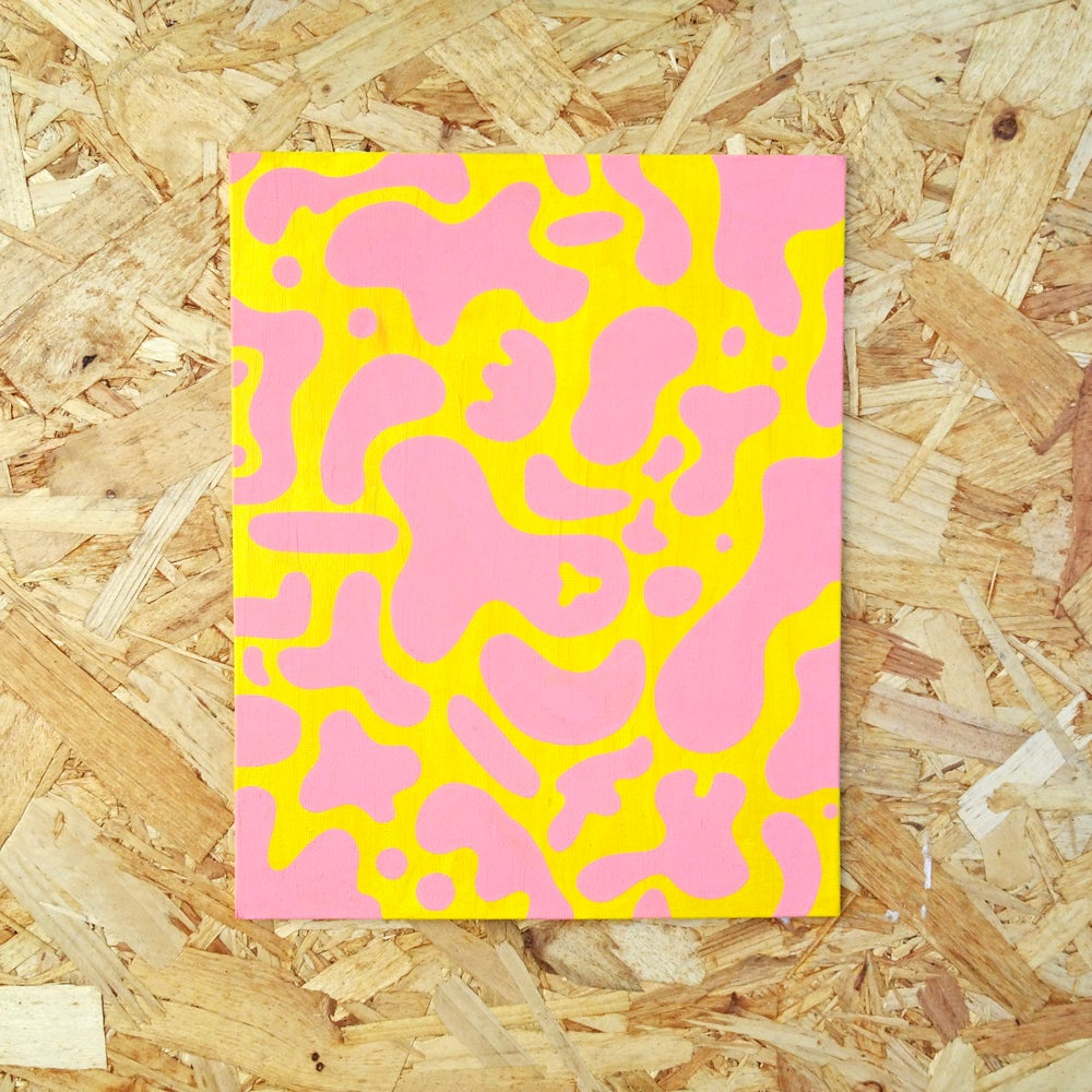 Image of Wiggly Original Painting