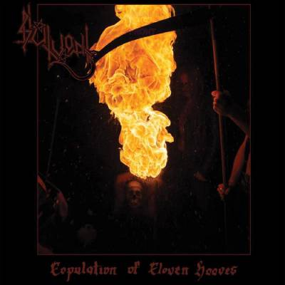 "Image of Slutvomit ""Copulation of Cloven Hooves"" _  12"" LP_ Invictus Productions"