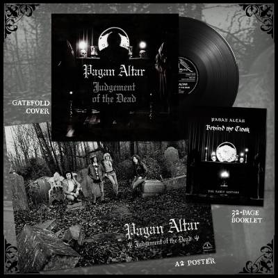 "Image of Pagan Altar ""Judgement of The Dead""  _ 12"" LP _ Temple Of Mistery Records"