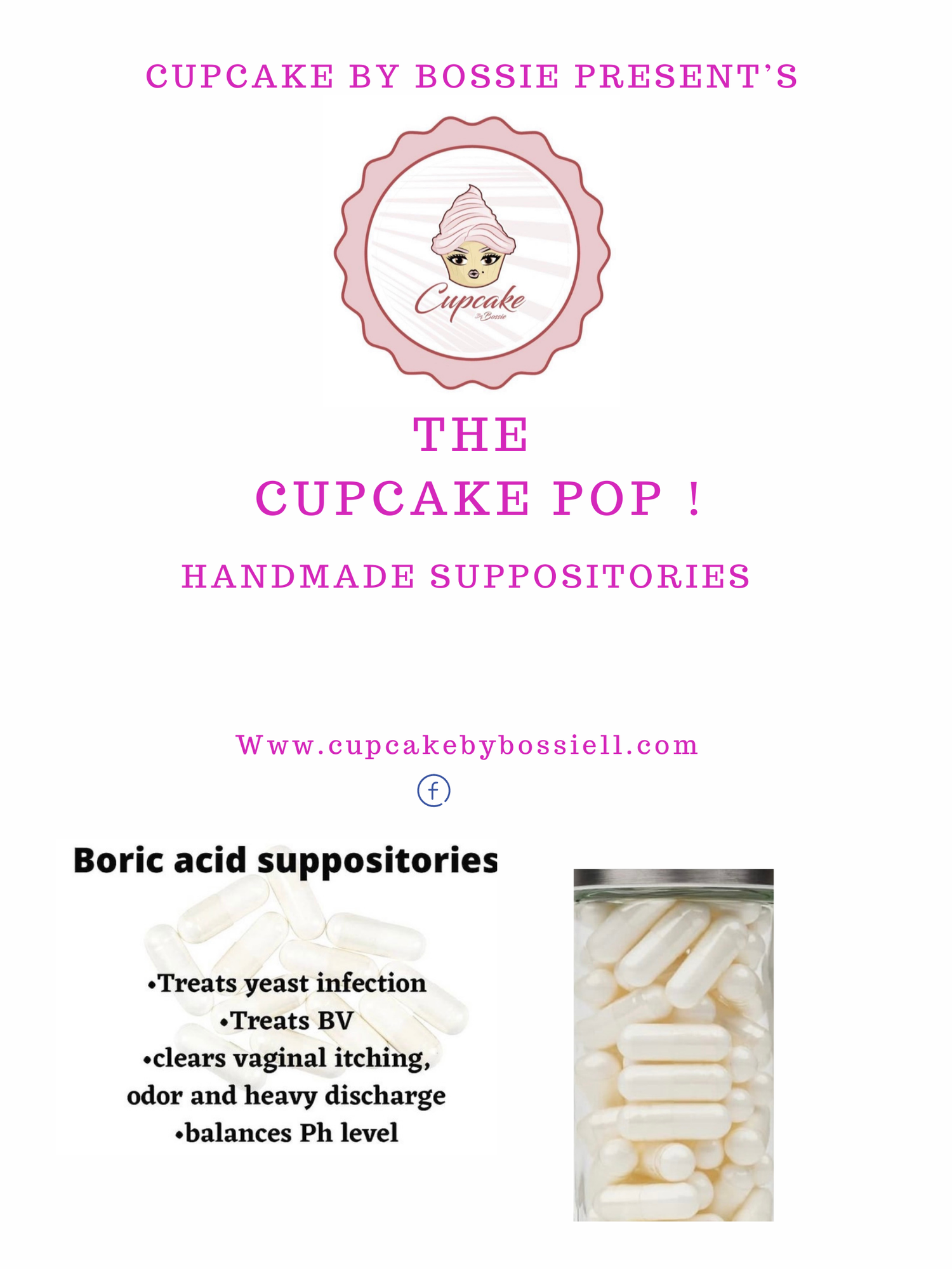 Image of Cupcake Pops Suppositories